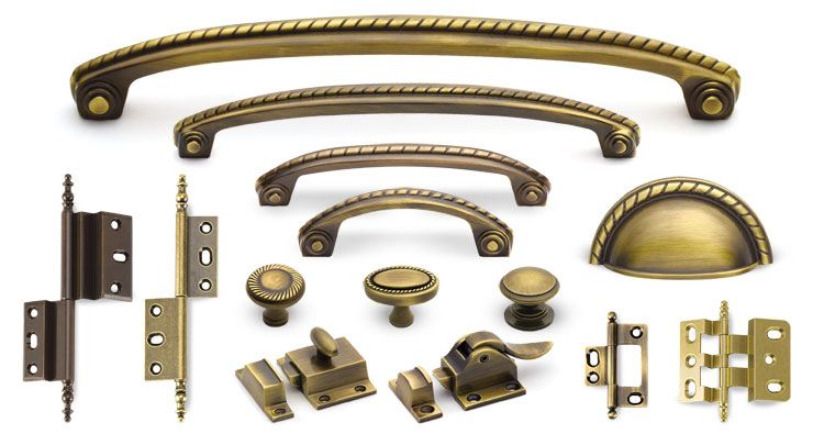Antique Br Hardware Image And Candle