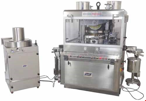 High Speed Tablet Press - RIDDHI PRESS Mark  II