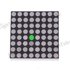 8X8 LED  DOT Matrix Display