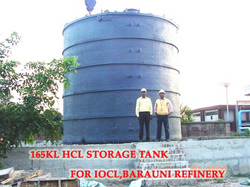 Alkali storage tanks