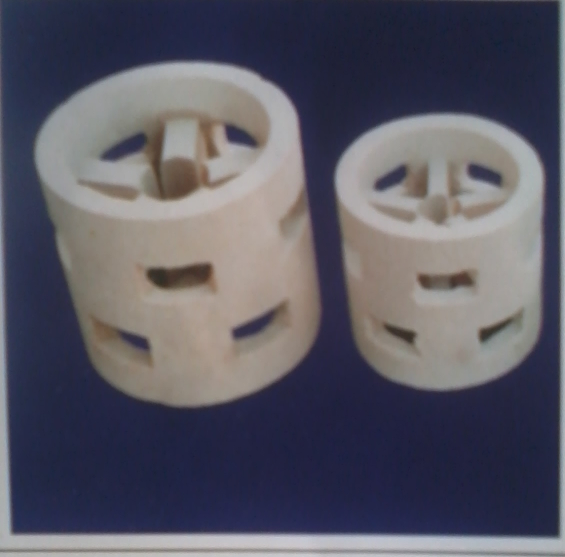 Ceramic Pall Rings