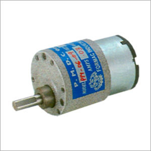 Compact P M D C Gear Motor